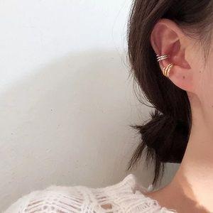 18k Gold Juste Clou Ear Cuff Earrings